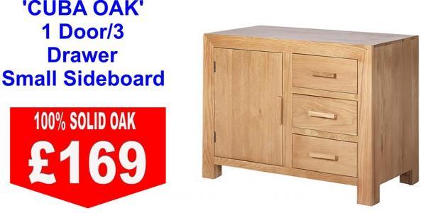 Cuba Oak Sideboard