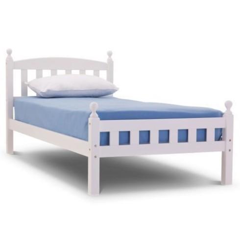 Florence 3ft white bed frame